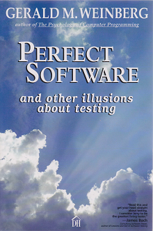 Обложка книги Perfect Software and other illusions about testing